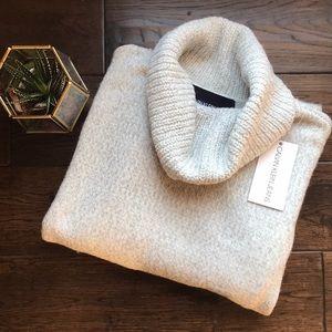 NWT Calvin Klein soft white cowl neck pullover